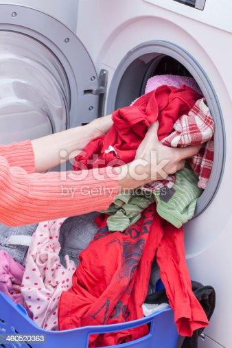 460589747 istock photo Preparing washing 460520363