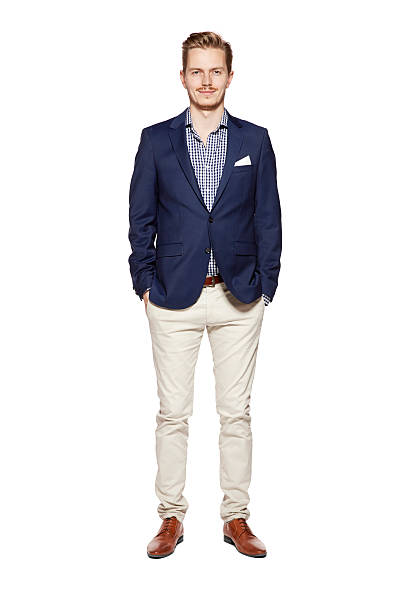 preppy your white guy in yacht club clothes - preppy fashion stock photos and pictures