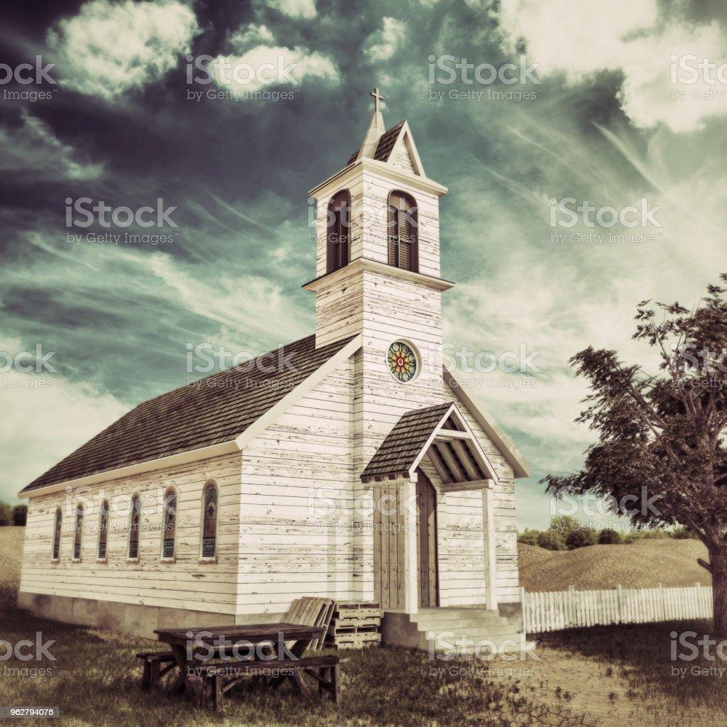 presbyterian church stock photo