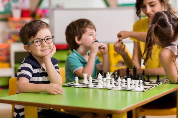 Vorschule und Schach – Foto