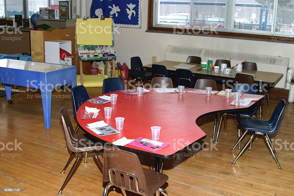preschool classroom royalty-free stock photo