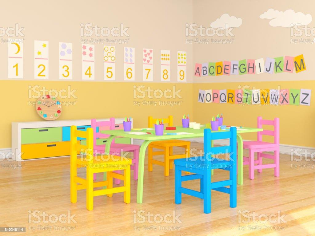 Kindergarten Spielzimmer – Foto