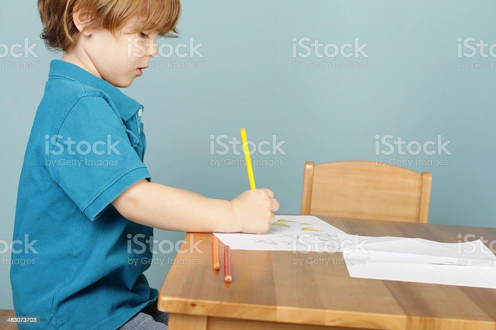Preschool Kids Education stock photo