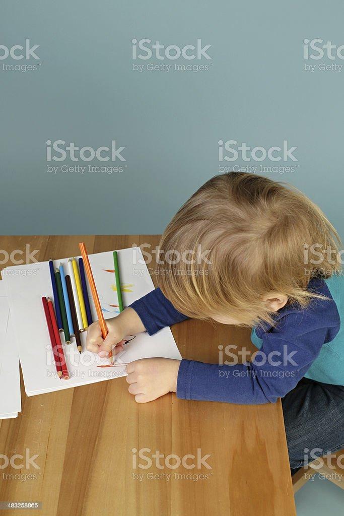 Preschool Kids Education royalty-free stock photo