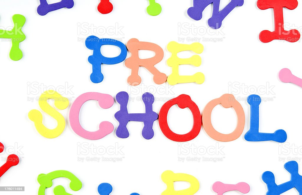 PreSchool royalty-free stock photo
