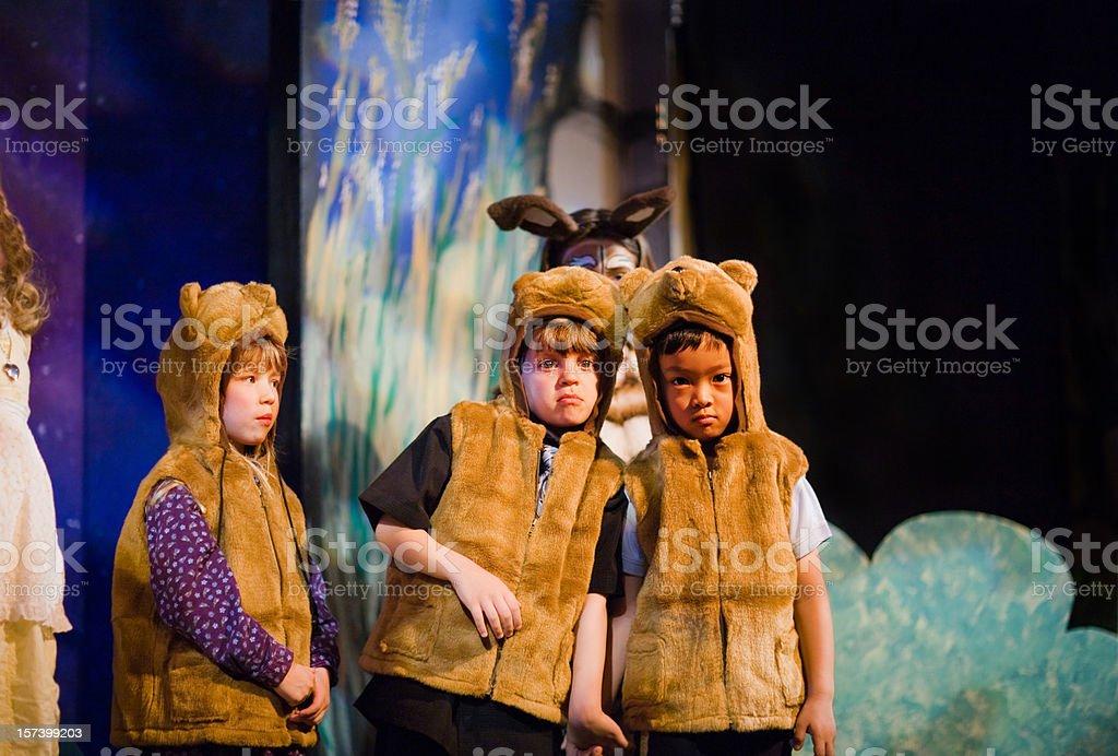 Preschool Theater Play royalty-free stock photo