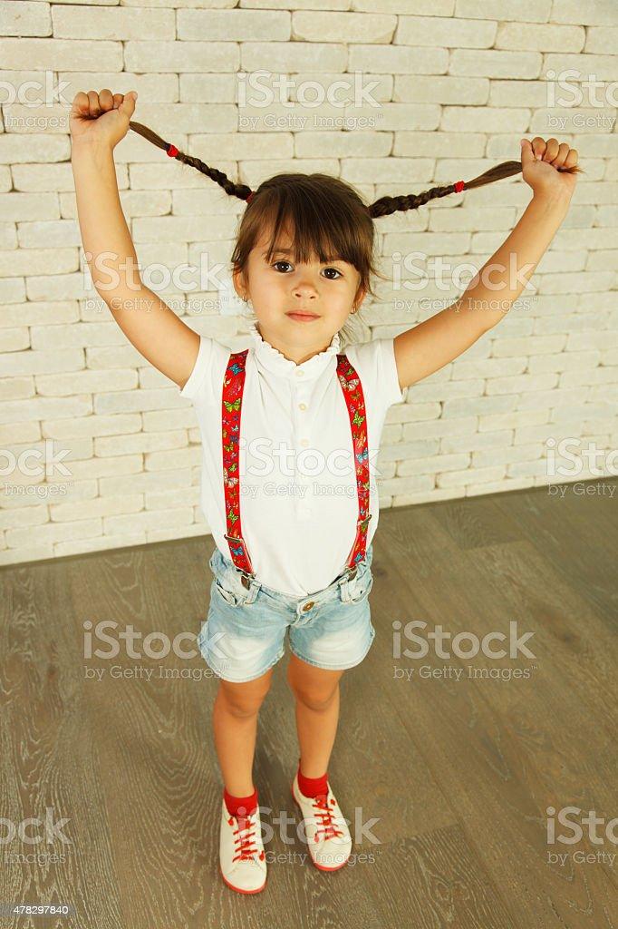 Vorschulkind Mädchen – Foto