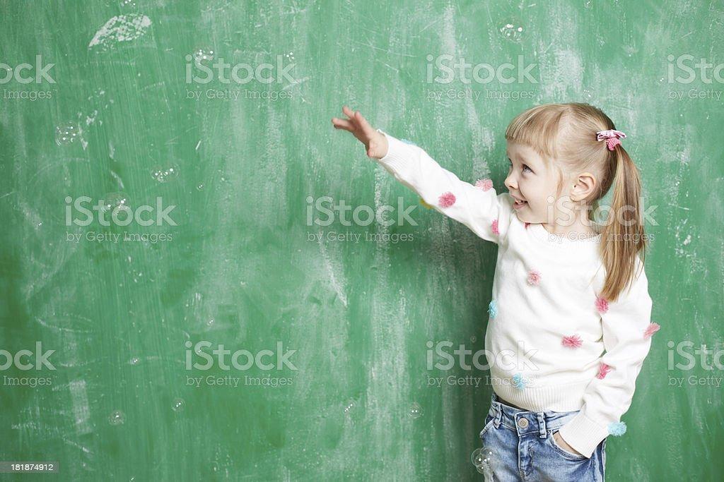 Preschooler royalty-free stock photo