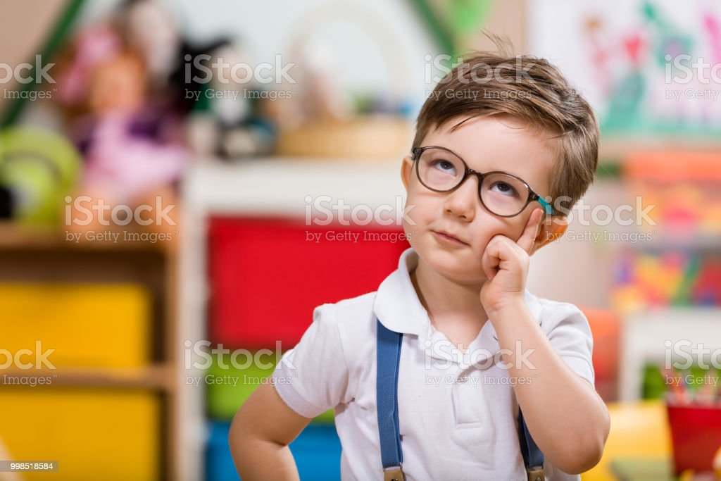 Preschooler stock photo