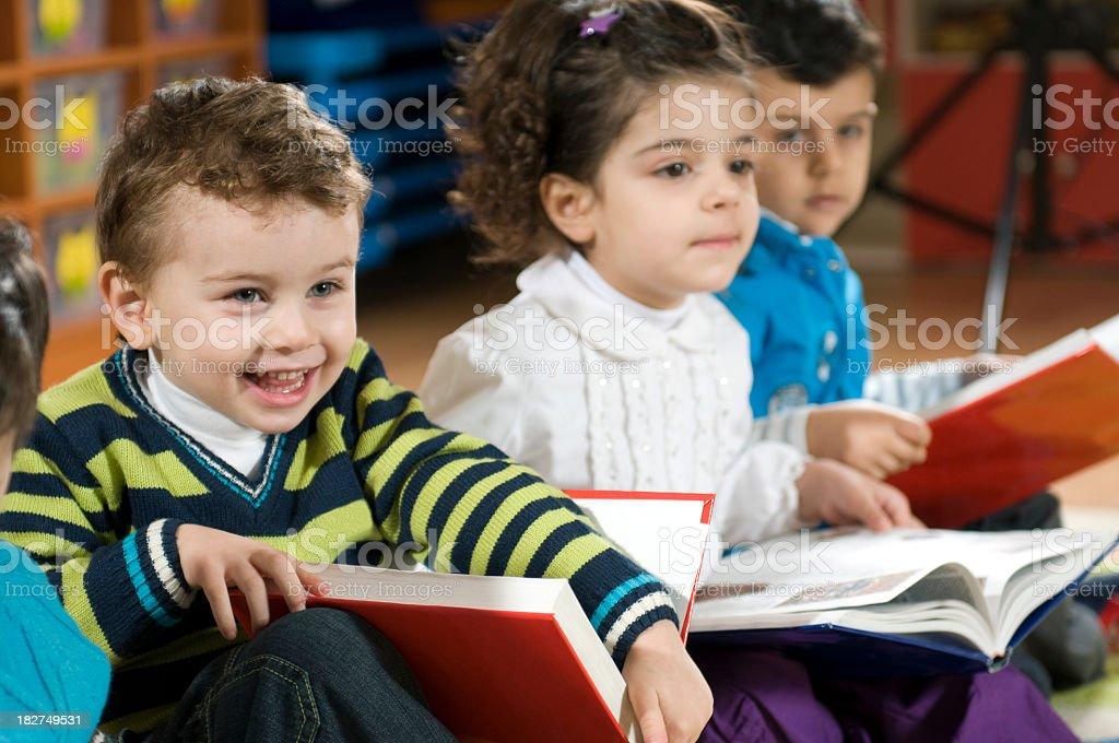 Preschoolers royalty-free stock photo