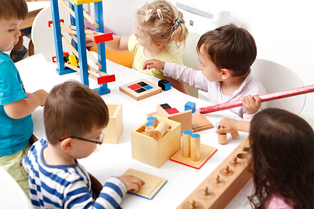 preschoolers - preschool stock photos and pictures