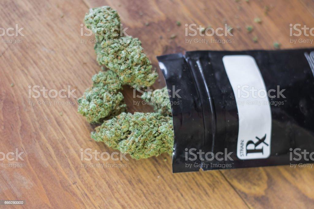 Prescribed Medical Marijuana stock photo