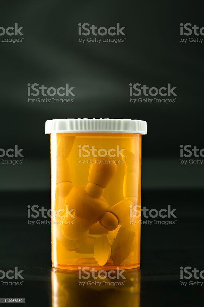 Prescription Captive royalty-free stock photo
