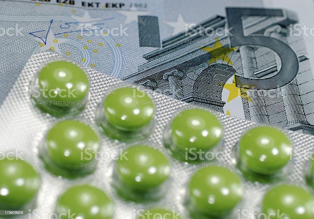 prescription charge stock photo