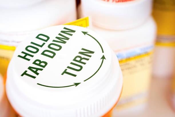 Prescription meds stock photos