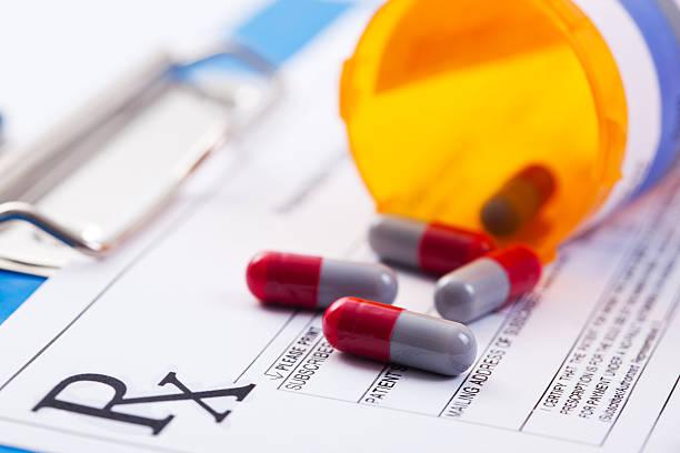 prescription drugs - prescription stock photos and pictures