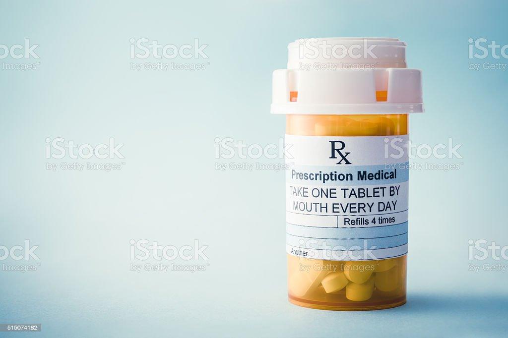 Farmaci su prescrizione - foto stock