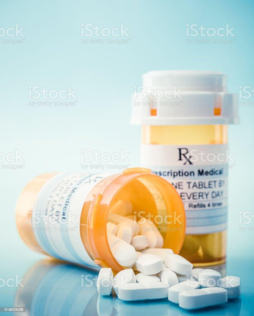 Los medicamentos recetados - foto de stock