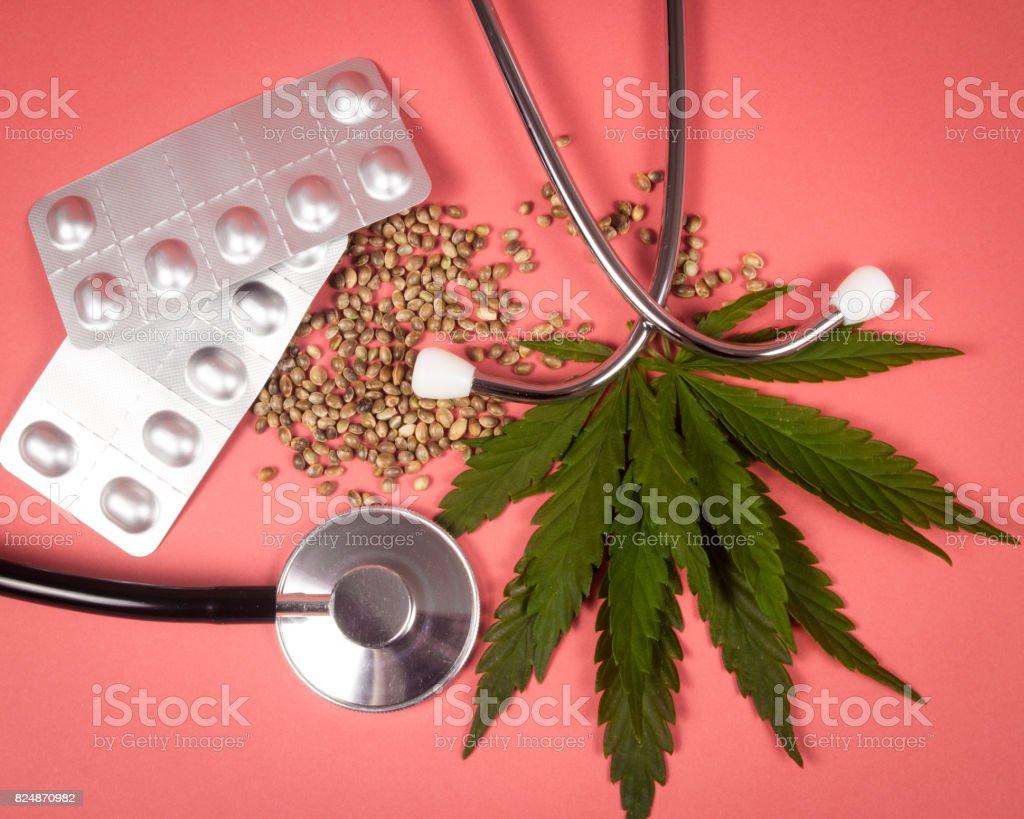 A prescription for medical marijuana. stock photo