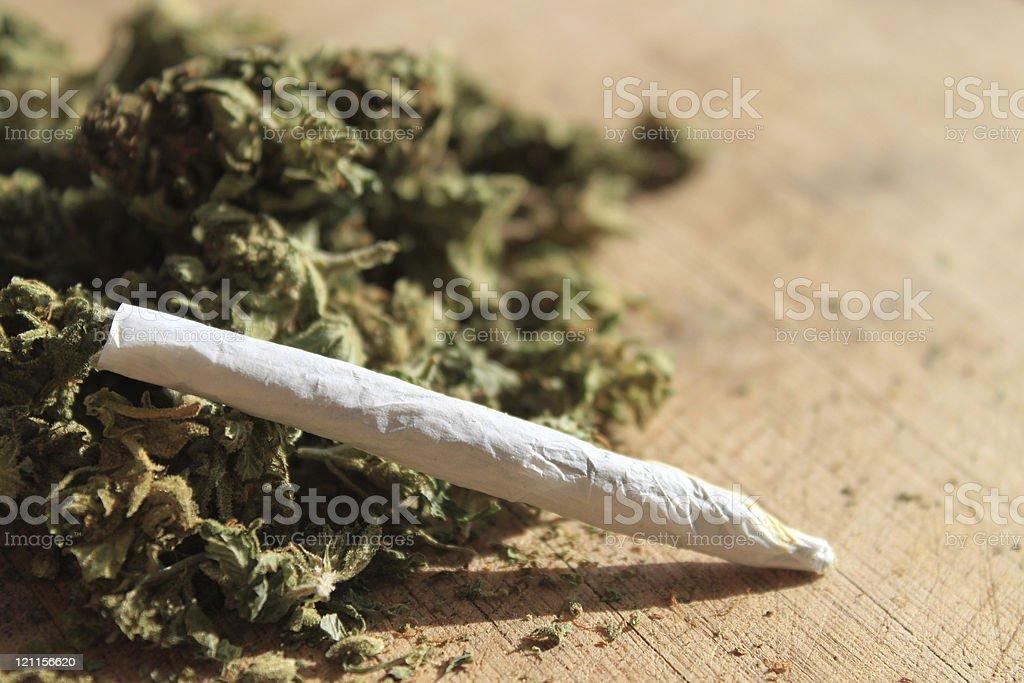 Prescription marijuana stock photo