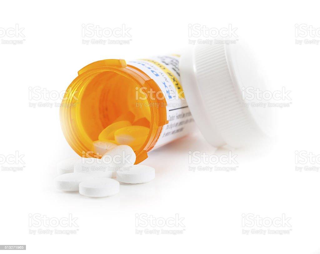 Prescription Medication stock photo