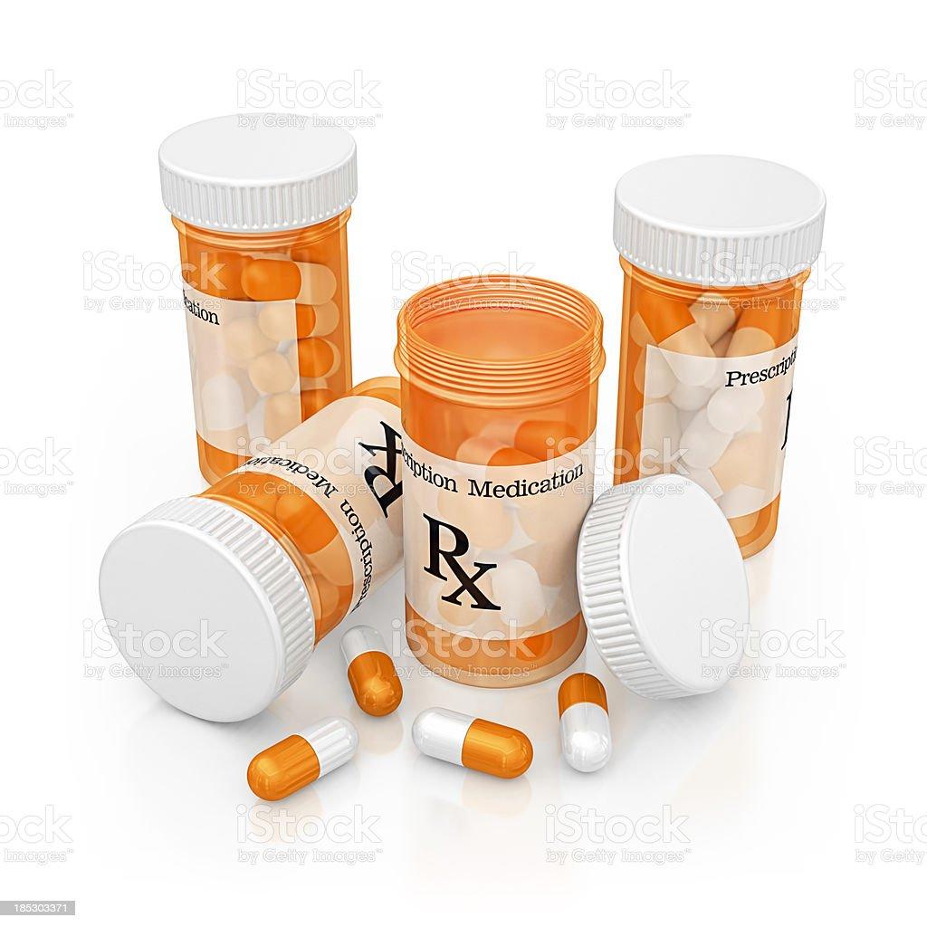prescription medications royalty-free stock photo