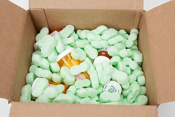 Prescription Medicine by Mail stock photo
