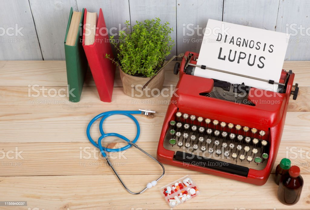 Prescription medicine or medical diagnosis - doctor workplace with...