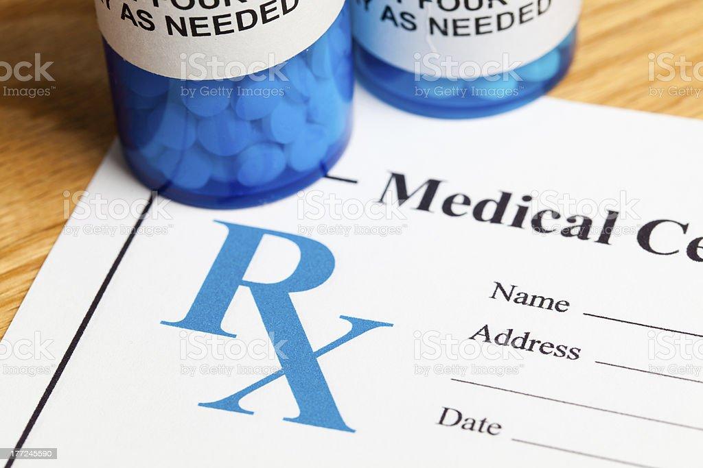 Prescription Medicine stock photo
