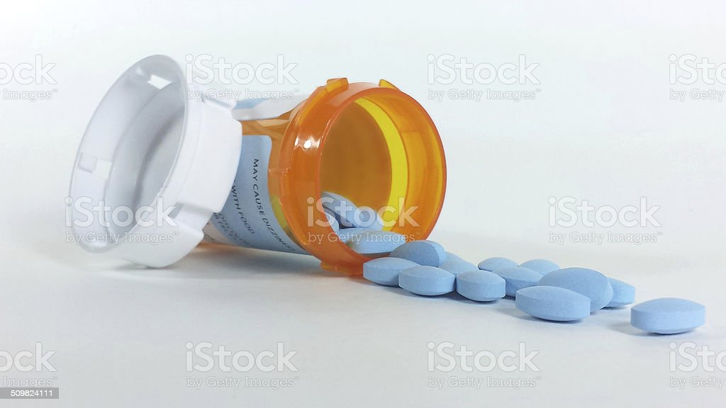 Prescription Medicine stock photo
