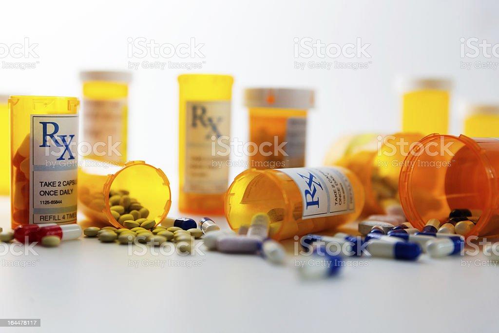 De receta pastillas - foto de stock