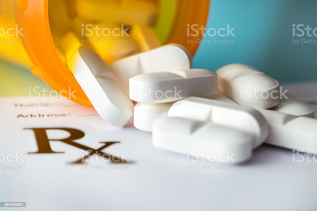 Prescription-Pills stock photo