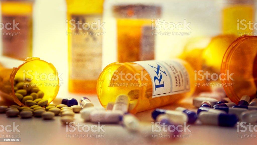 RX Prescriptions stock photo