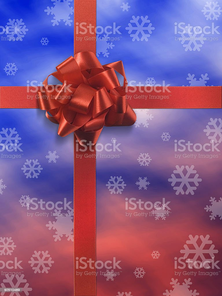 Present 1 no tag royalty-free stock photo