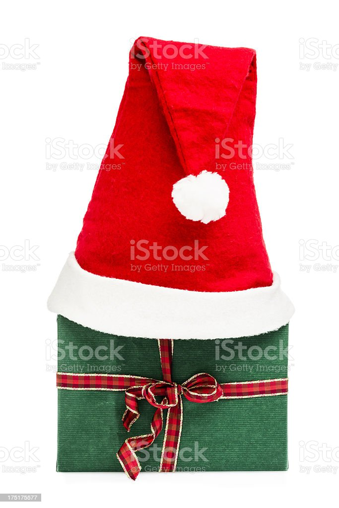 Present for Christmas royalty-free stock photo