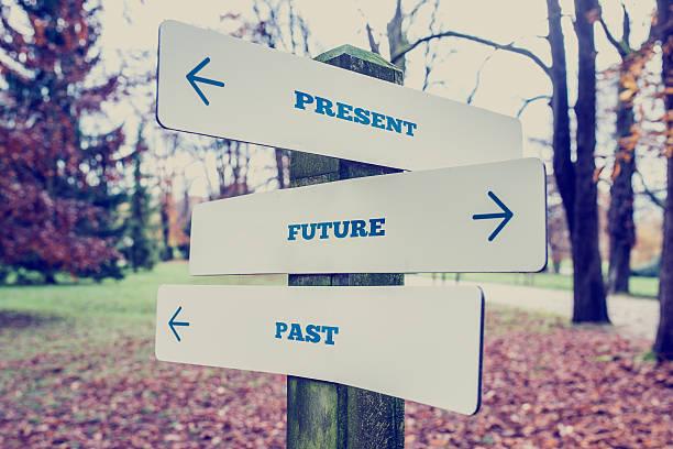 Gegenwart, Zukunft und Vergangenheit Konzept – Foto