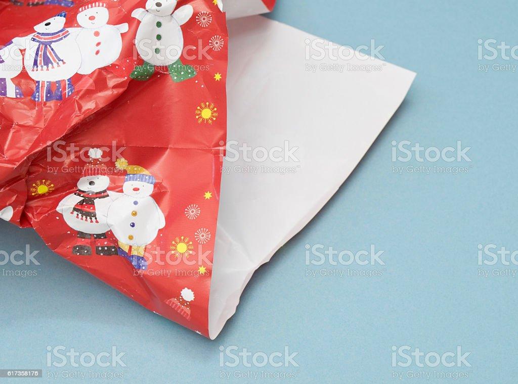 present paper stock photo