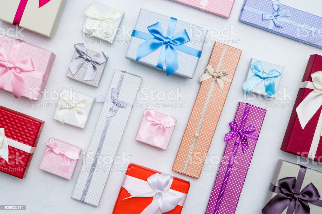Present Wrapping Craft Creative Idea Boxes Design Stock Photo Download Image Now Istock