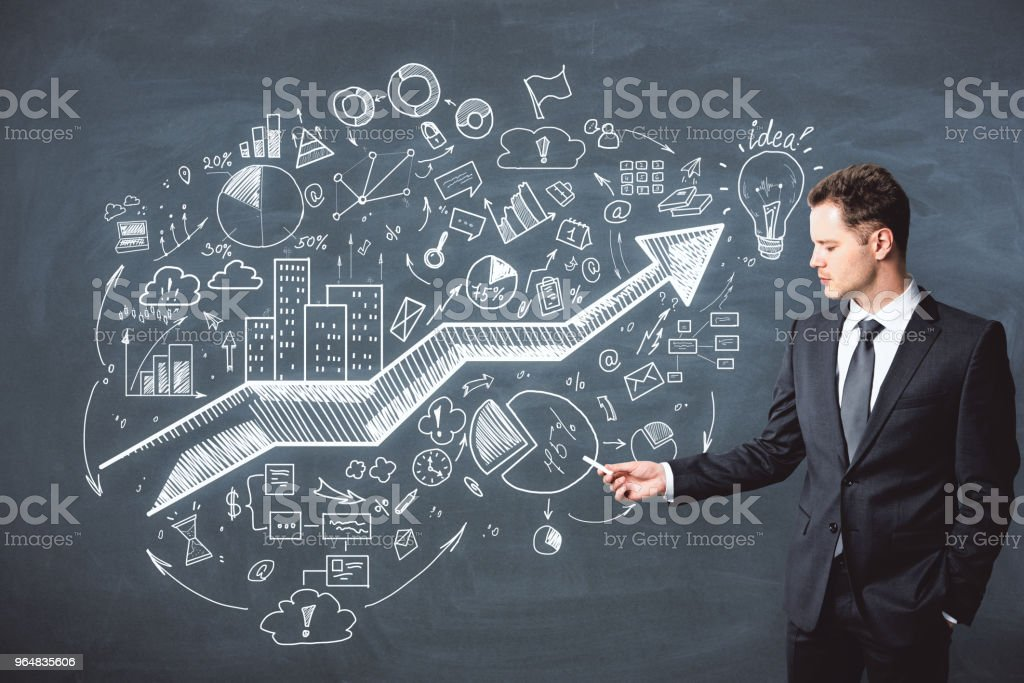 Presentation and strategy concept royalty-free stock photo