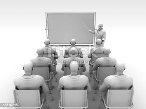istock Presentation Board and Class 453402481
