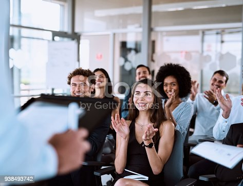 istock Presentation goals: Making an impact while getting a message across 938493742
