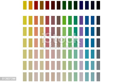 image of presentation of different colors