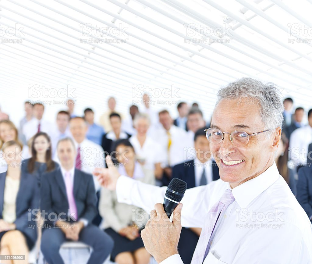 Presentation royalty-free stock photo