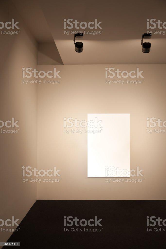 Presentation wall stock photo