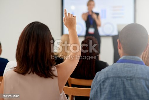 892254154 istock photo Presentations that stimulate discussion 892252542