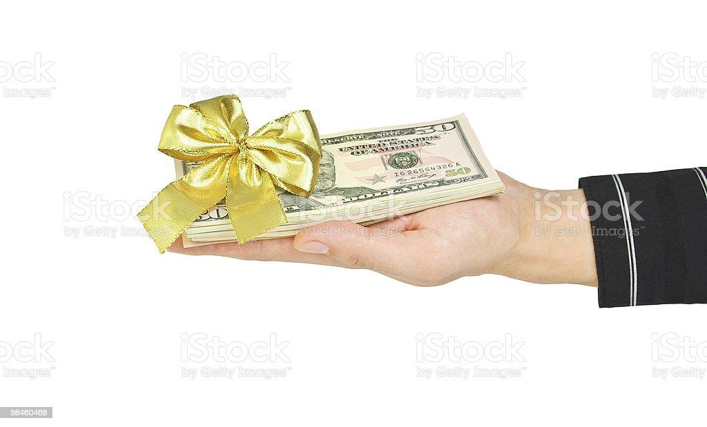 제시 돈을 royalty-free 스톡 사진