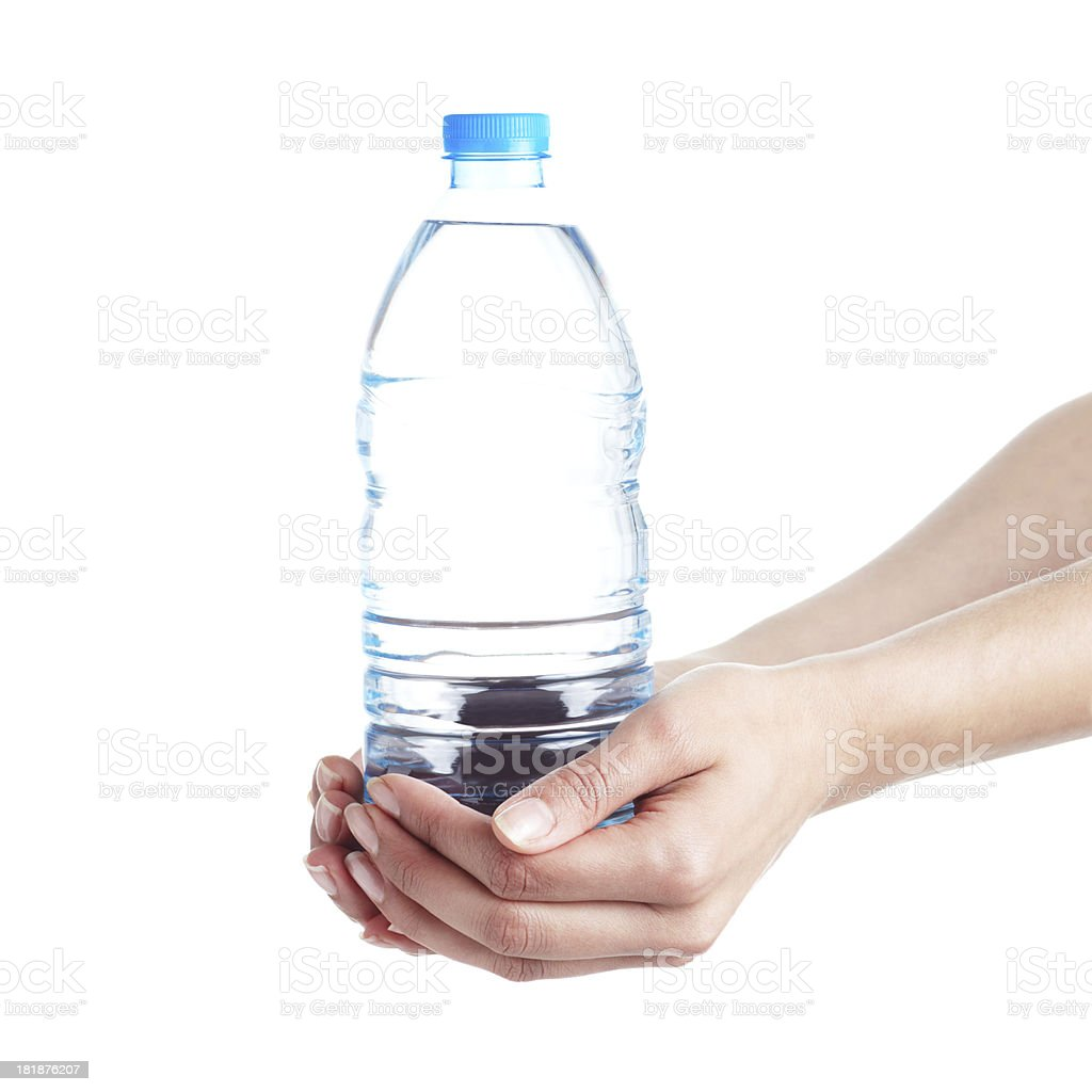 Presenting the Water royalty-free stock photo