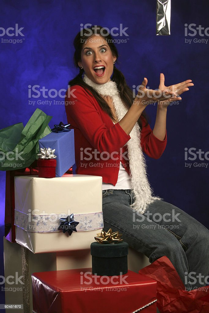 presents from heaven royalty-free stock photo