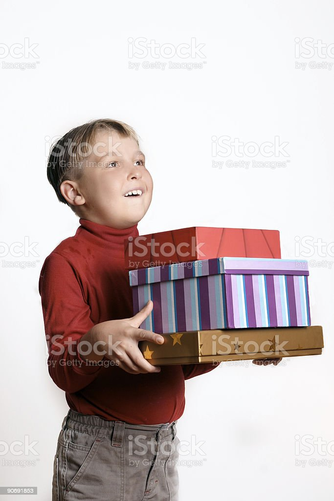 Presents Galore royalty-free stock photo
