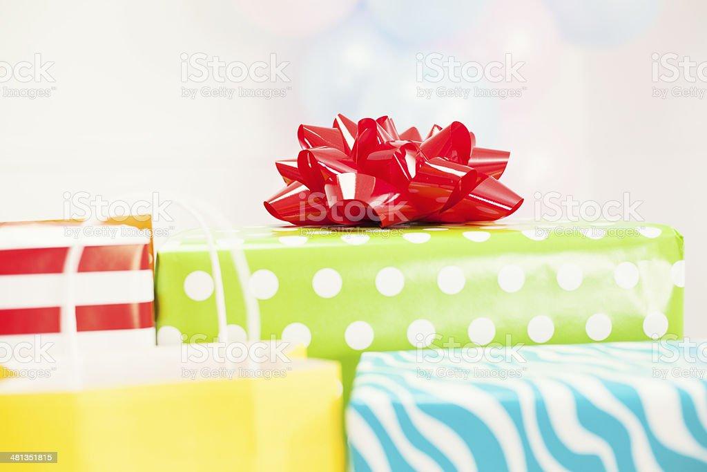 Presents royalty-free stock photo